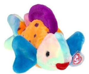 Lips the Fish Ty Beanie Buddy stuffed animal