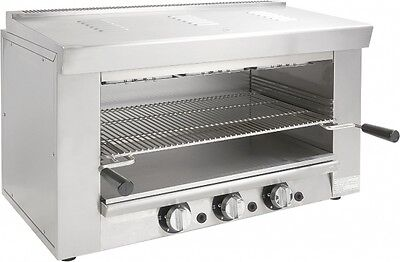 New 36 Cheese Melter Broiler Overhead Gas Adcraft Bdchm-36ng 6297 Nsf
