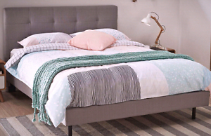 QUEEN bed frame - simple, sleek and modern FREE DELIVERY North Strathfield Canada Bay Area Preview