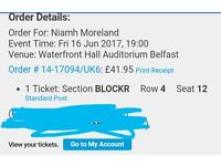 Paramore ticket swap- seating for standing