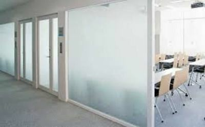 "40"" X 25 FT ROLL WHITE FROST FILM PRIVACY FOR OFFICE,BATH,GLASS DOORS,STORES ETC"