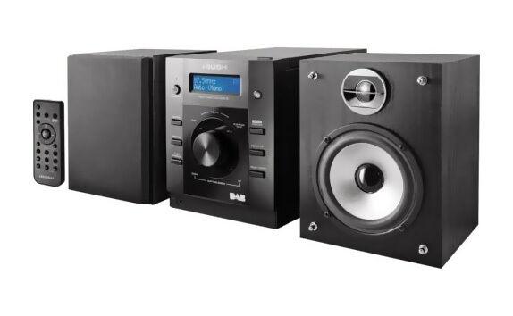 Bush 10W DAB Compact Shelf Stereo