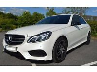 NEW CAR - Mercedes E Class Auto - PCO - Rent/ Hire - TAXI - Executive chauffeur UBER/ LEXUS IS300H