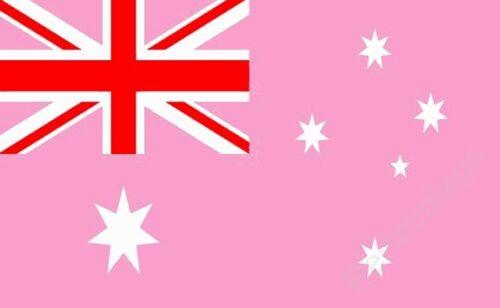 AUSTRALIA GAY PRIDE FLAG - AUSTRALIAN NATIONAL FLAGS - Hand, 5x3 Feet