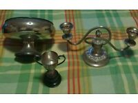 3 Silver metal antiques