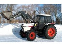 Tractor with loader wanted