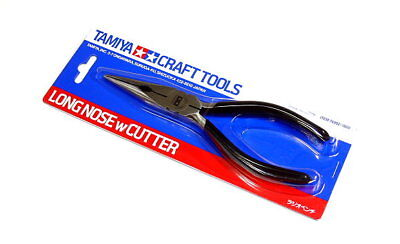 Tamiya Model Craft Tools Long Nose with Cutter 74002