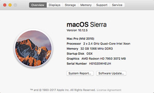 MacPro Tower (Or best Offer)