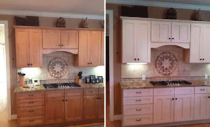 Kitchen Cabinet Painting & Refinishing - ***PRE SPRING SALE***