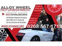 LONDON ALLOY WHEEL REFURBISHMENT PREMIUM SERVICE with Loan wheel service