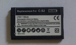 Battery for Blackberry Cellphone EM1, M-S1, JM1, JS1, F-S1, C-S2