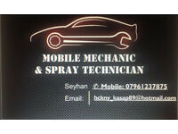 Mechanic & Spray Technician [ Best Rates ] Genuine parts