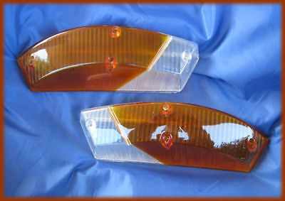 ALFA ROMEO DUETTO SPIDER '66-'69 - Pair of front lenses