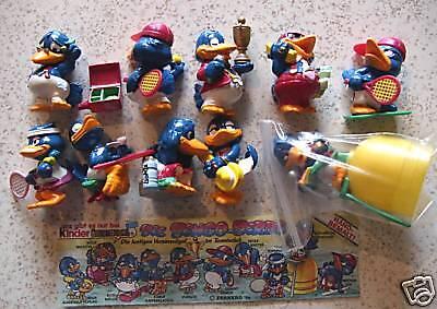 """Suchen Sie sich 2 Figuren """"Die Bingo Birds"""" 1996 aus der Liste aus!!"""