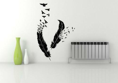 flying wall birds ebay. Black Bedroom Furniture Sets. Home Design Ideas