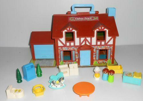 Vintage Fisher Price Dollhouse 952 Ebay