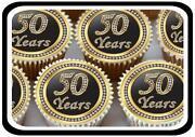 50th Anniversary Cake Decorations