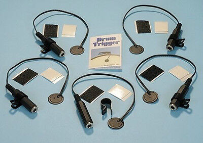 5 DRUMDIAL DRUM TRIGGERS dial trigger module electronic ddt5pk