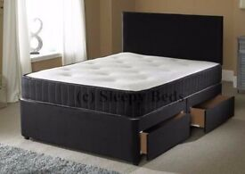 Single / Small Double / Double Memory Foam Orthopedic Bed and Mattress