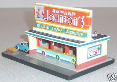 (HOWARD JOHNSONS ICE CREAM RESTAURANT CONCESSION STAND '40s Style Lefton 1995 MIB)