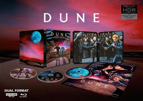 DUNE New Sealed 4K Ultra HD UHD + Blu-ray 1984 Limited Edition Steelbook