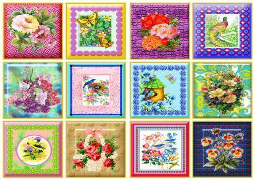 Flower Tile Stickers Ebay