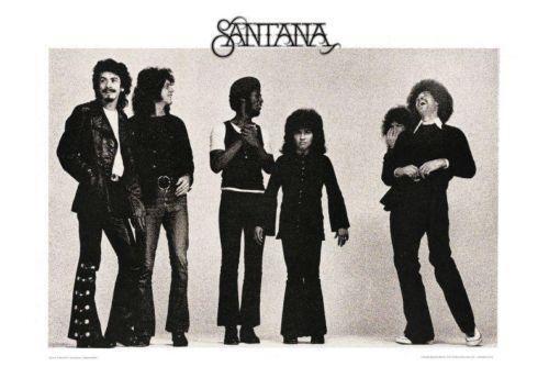 Santana Poster Ebay