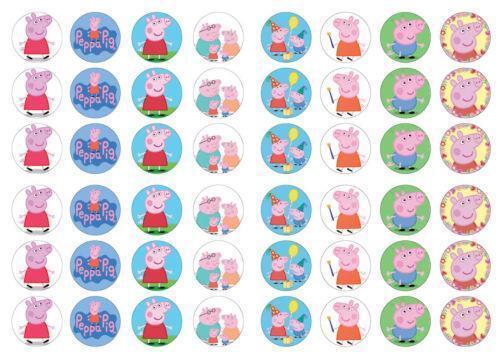 Peppa Pig Cake Toppers Ebay