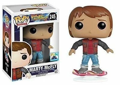 Marty Mcfly Hoverboard (Pop! #245 MARTY McFLY with HOVERBOARD Fun.com EXCLUSIVE (damaged)