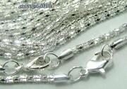 Silver Plated Chain Lot
