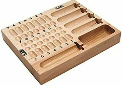 Lab Lpb001 Wood Block Pinning Tray Lock Rekeying Tool