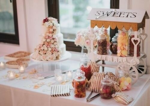Wedding Sweet Cart Jars Extras
