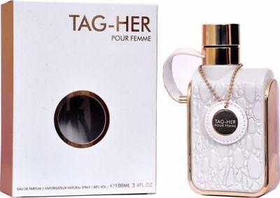 NEW ARMAF TAG-HER POUR FEMME EAU DE PARFUM FOR WOMEN WITH FREE SHIPPING - 100 ML