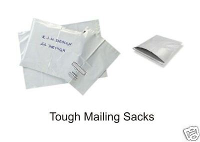 50 POLYTHENE MAILING BAGS/POSTAL BAGS (9x12