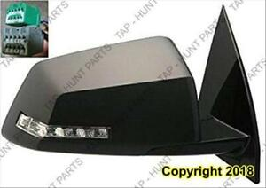 Door Mirror Power Passenger Side Heated With Signal Power Folding With Memory Chevrolet Traverse 2009-2013