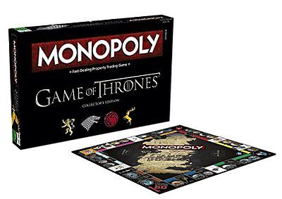 USAopoly Monopoly GAME OF THRONES GAME, Collector's Edition BOARD GAME