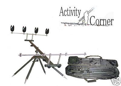 Behr Red Carp - RedCarp - Rod Pod - 4 Ruten - 4 Bein - Rutenständer -HIGH