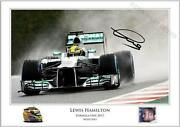 Lewis Hamilton Signed