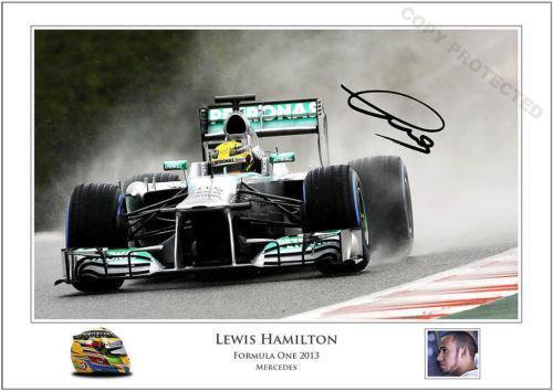 83dc1629ed0 Lewis Hamilton Signed  Formula 1