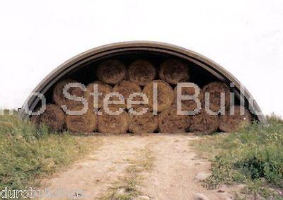 Durospan Steel 51x90x17 Metal Buildings Diy Arch Farm Hay Sheds Open Ends Direct
