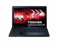 PROFESSIONALLY REFURBISHED TOSHIBA C660 LAPTOP 4GB RAM 250GB HDD INTEL i3 OFFICE 6 MONTHS WARRANTY
