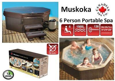 Muskoka Portable Spa by Canadian Spa Company