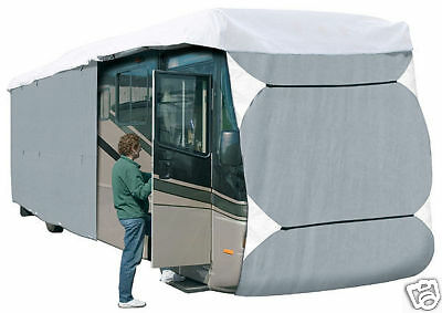 (Deluxe PolyPro III RV Cover Extra Tall Fits Class A 30-33 Foot - Extra Tall)