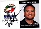 New Zealand Warriors 2011 Rugby League (NRL) Trading Cards
