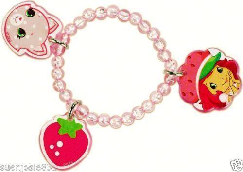 Strawberry shortcake bracelet ebay for Strawberry shortcake necklace jewelry