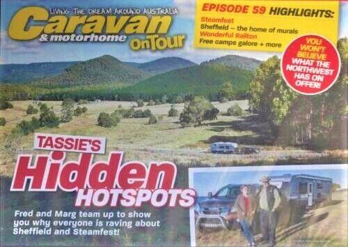 CARAVAN & Motorhome ON TOUR: TASSIE'S HIDDEN Hotspots DVD Is