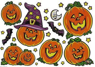 Halloween Window Clings - 2 Pack - Halloween Window Clings