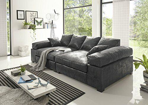 Big Sofa Couchgarnitur Megasofa Riesensofa Polstergarnitur XXL Vintage