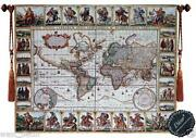Antique Wall Map