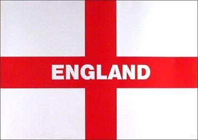 3ft x 2ft ENGLAND FLAG EURO'S 2021 FOOTBALL ST GEORGE CROSS NATIONAL BARGAIN NEW